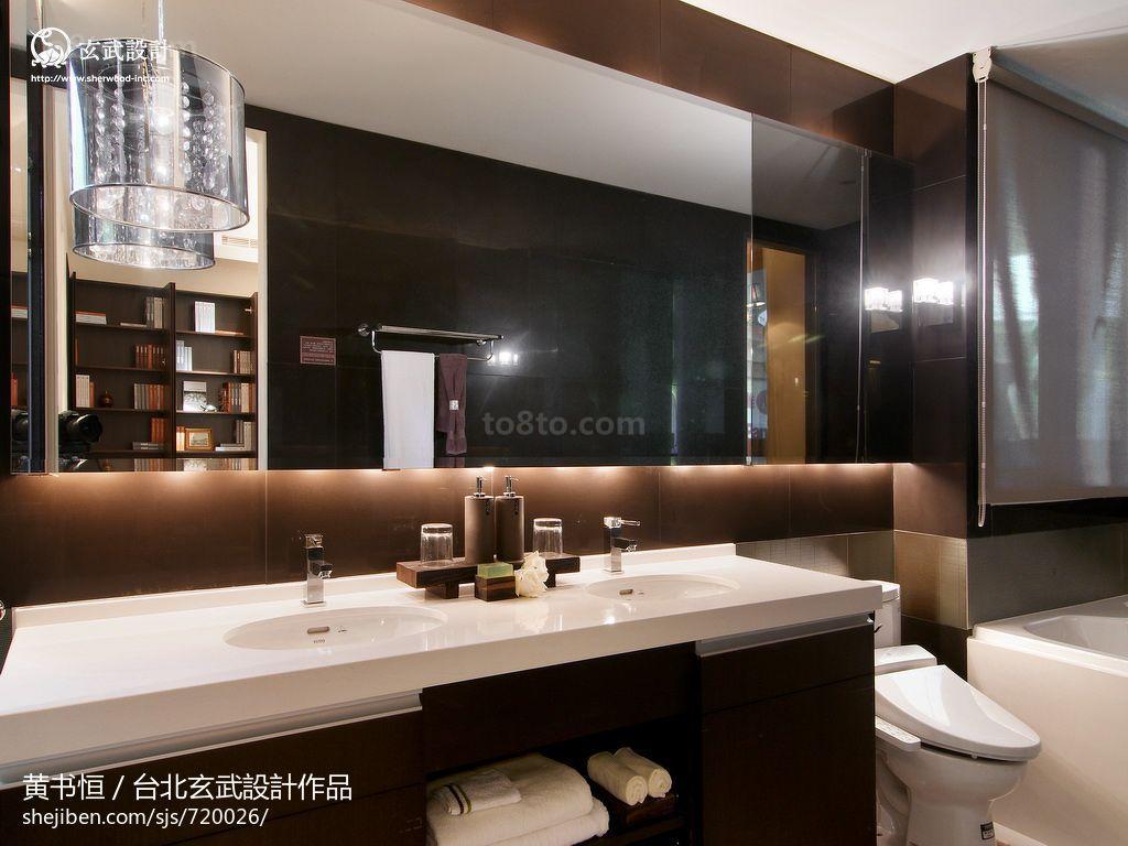 热门72平米二居卫生间中式欣赏图片大全