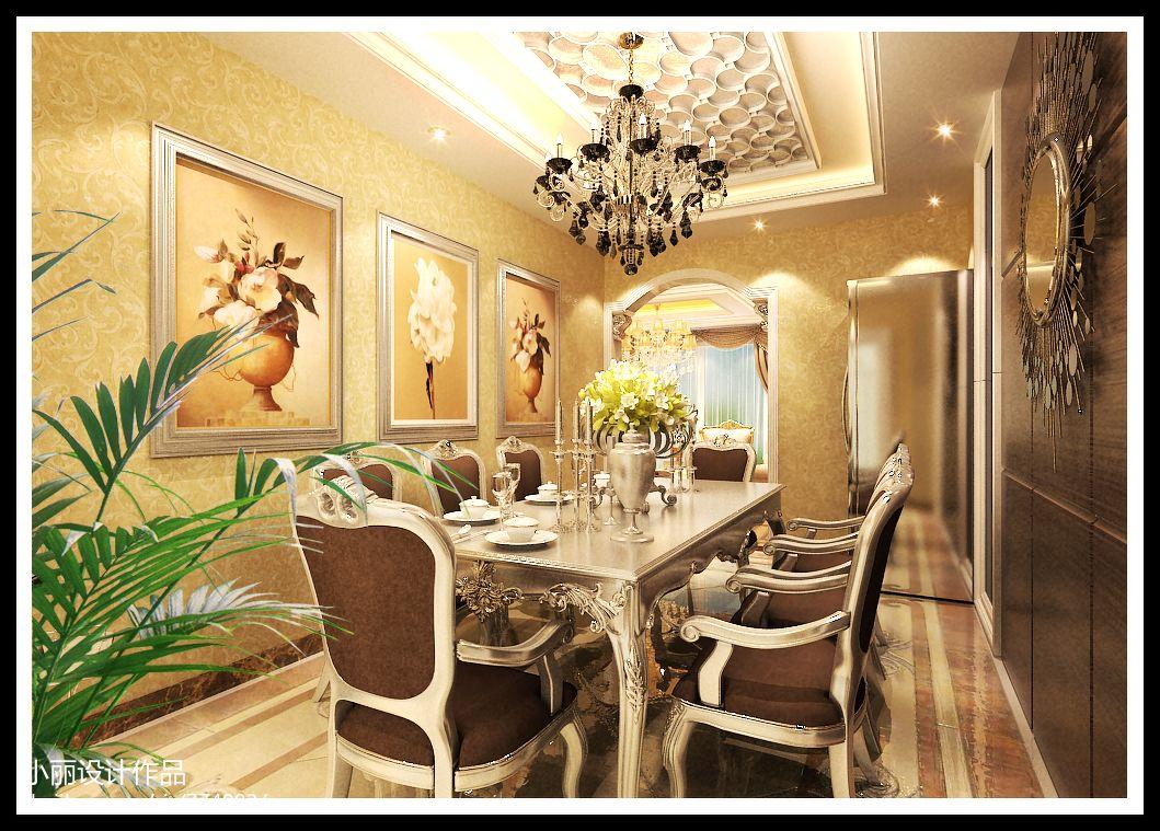 奢华别墅客厅装修效果图