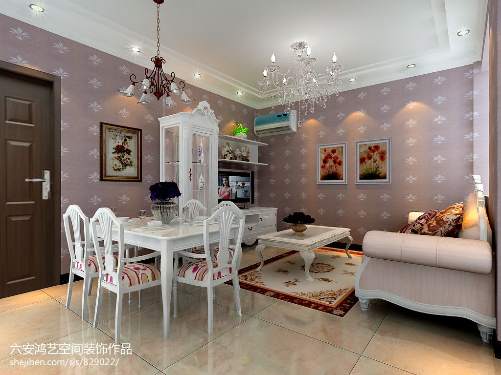 精美89平米混搭小户型客厅实景图片大全