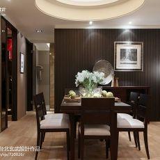 精美中式二居餐厅装修设计效果图片欣赏