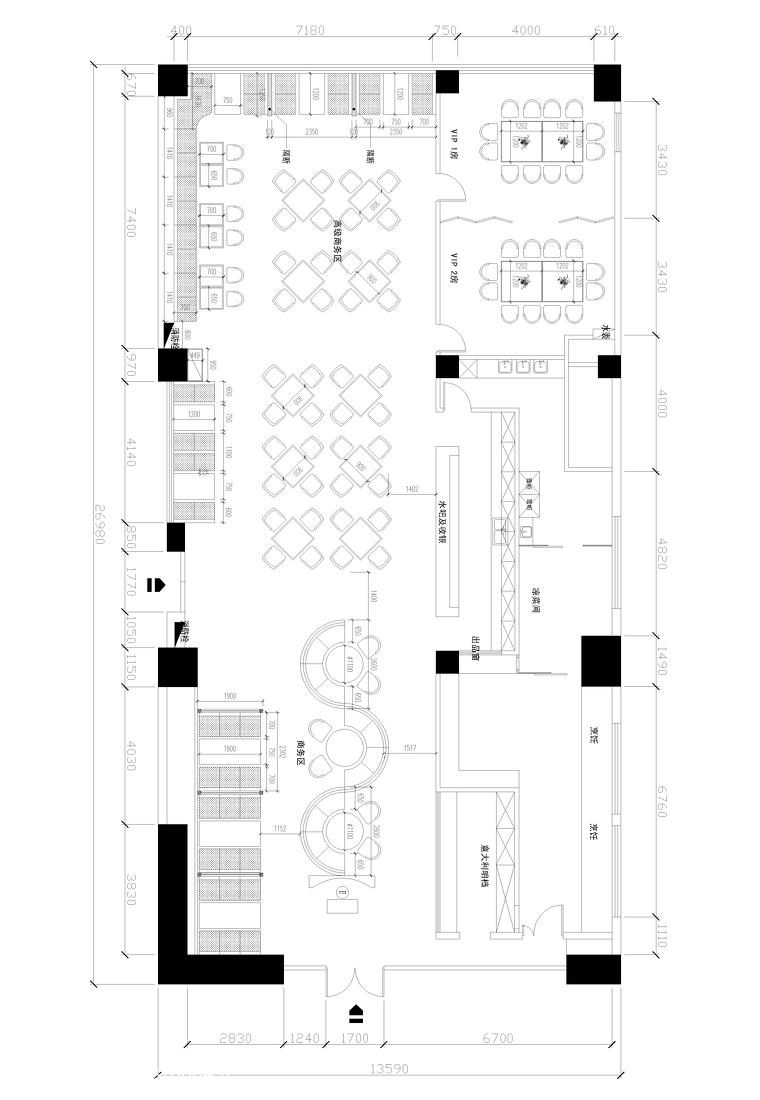 116平米美式别墅装修欣赏图片
