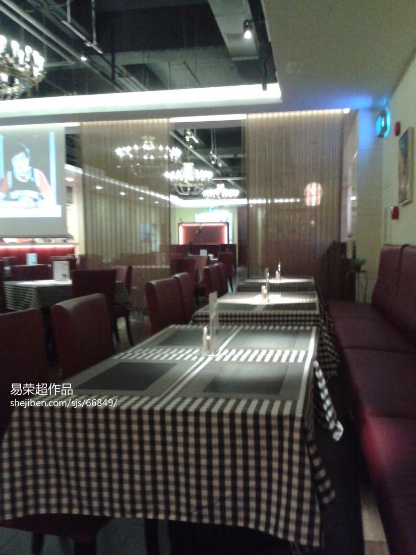 简欧风格设计餐厅家居效果图片