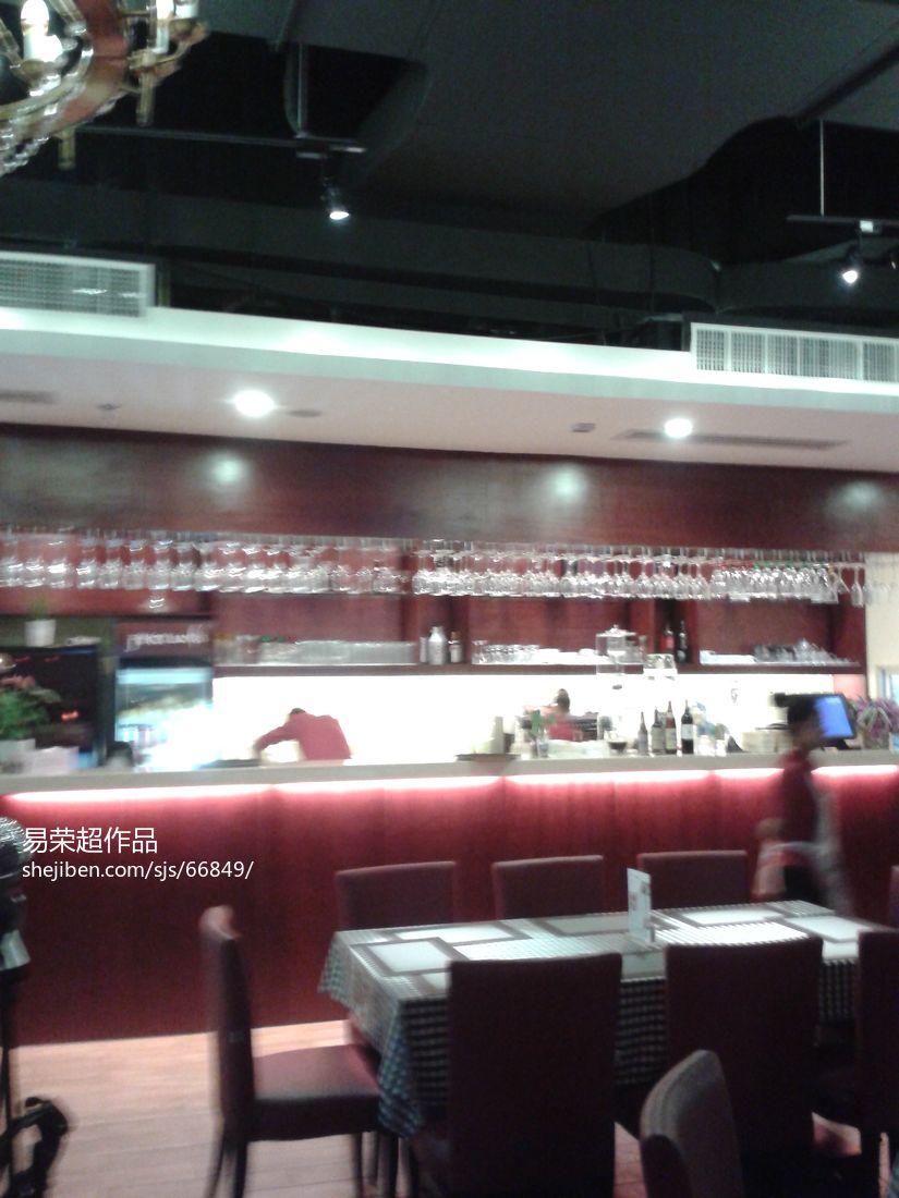 时尚中式风格别墅室内餐厅设计图片