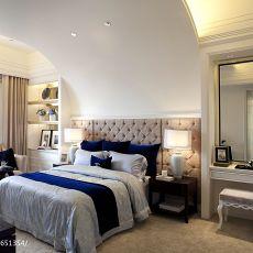面积138平混搭四居卧室装饰图片