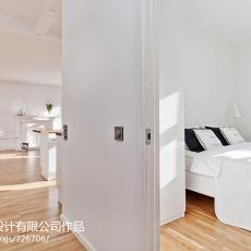 精选124平米四居卧室混搭装修设计效果图片欣赏