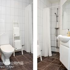 热门四居卫生间混搭装修设计效果图片欣赏
