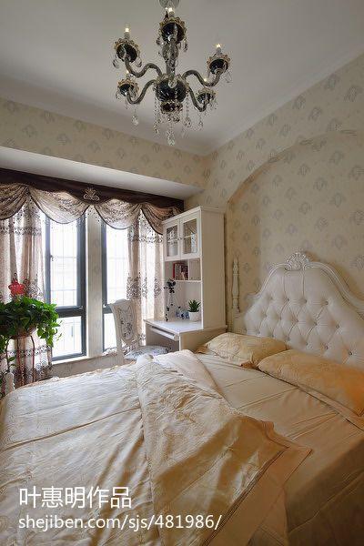 精选102平米三居卧室混搭装修图片