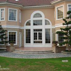 精选114平米混搭别墅花园装修设计效果图片大全