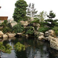 精选139平米混搭别墅花园装修实景图片