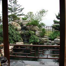 精选133平米混搭别墅花园装修欣赏图片