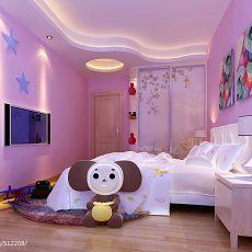 2018精选面积126平混搭四居卧室装修效果图片欣赏