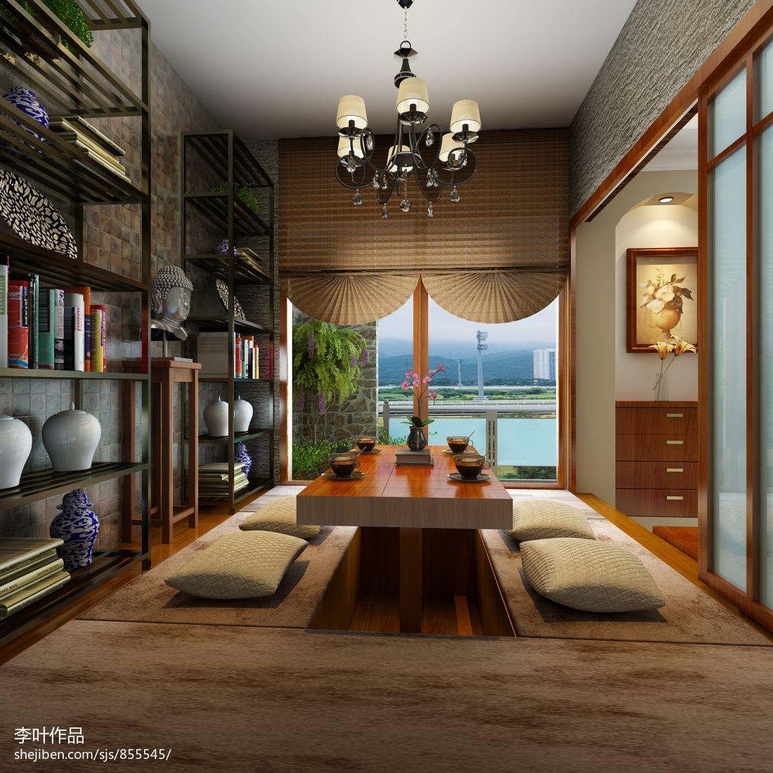 热门133平米简约复式休闲区效果图片欣赏