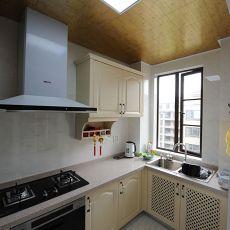 热门复式厨房欧式装修欣赏图片大全
