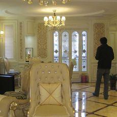115平方混搭别墅客厅装饰图片大全