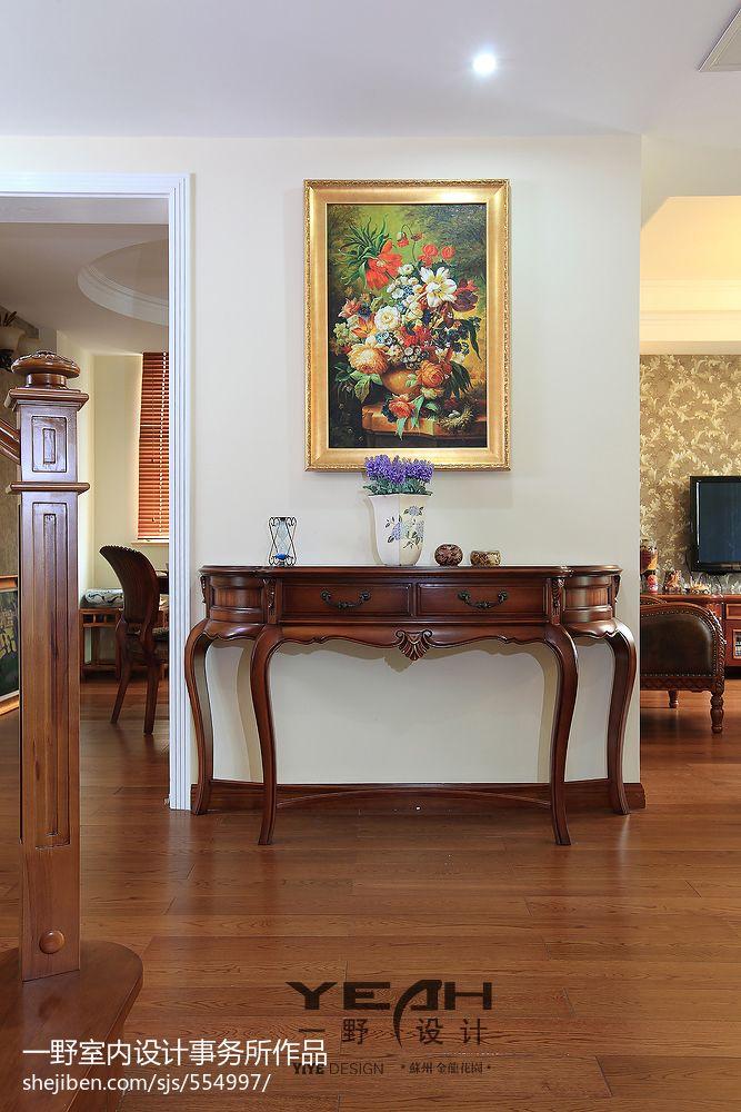 精選127平米混搭別墅玄關裝修設計效果圖片大全