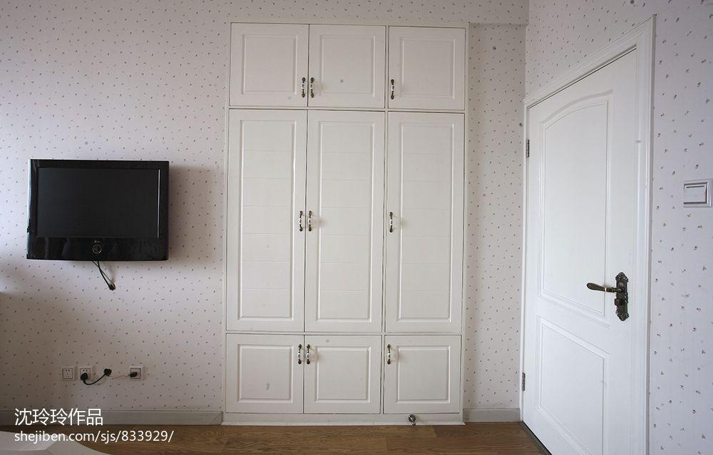124平方四居卧室混搭实景图片大全