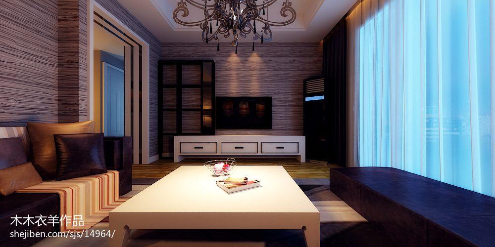 黑红白简约现代家庭餐厅装修设计效果图