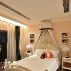 2018精选107平米三居卧室现代装修设计效果图片大全