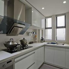 精美现代四居厨房装修欣赏图片
