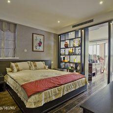 精美面积135平中式四居卧室装修实景图片大全