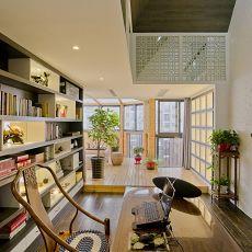 精美面积130平中式四居书房装修效果图片