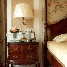 热门90平米三居卧室美式装修设计效果图片欣赏