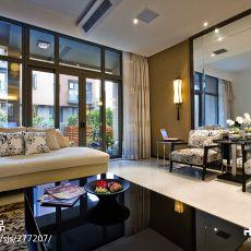 2018面积103平现代三居客厅装修设计效果图片