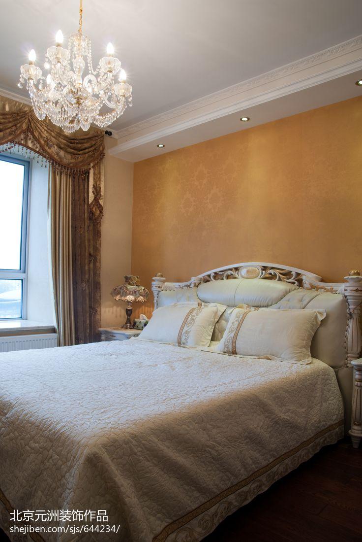 热门大小142平混搭四居卧室装修实景图片