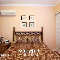 精选面积86平小户型卧室美式装修效果图片大全