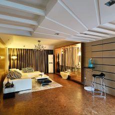 精选89平方二居客厅现代装修欣赏图