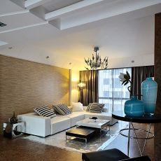 2018大小81平现代二居客厅装修图