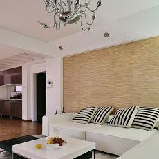 201875平米二居客厅现代效果图片