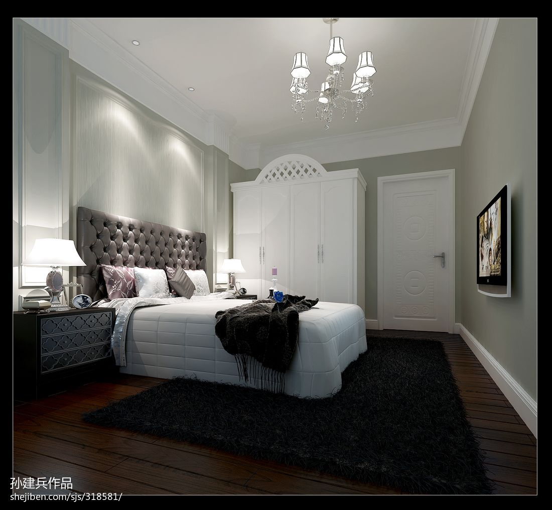 现代小清新日式客厅设计