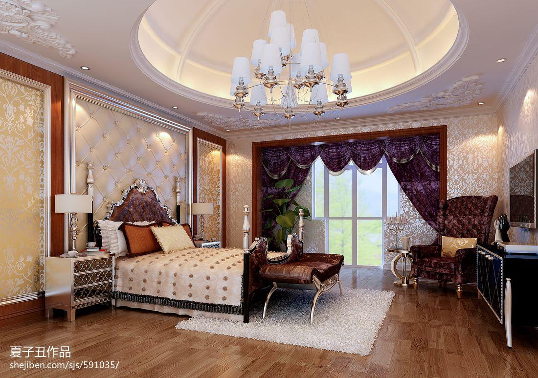 现代豪华时尚客厅效果图