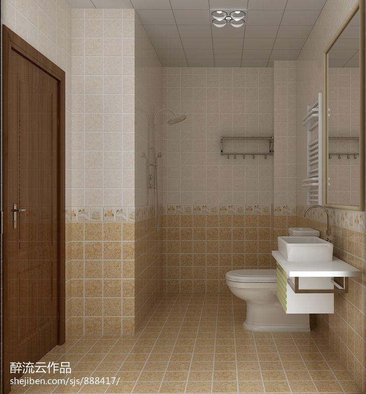 日式设计室内卫生间图片大全