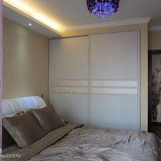 精美83平米二居卧室混搭实景图片大全