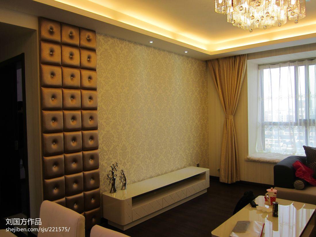 精选88平混搭二居客厅装修欣赏图片