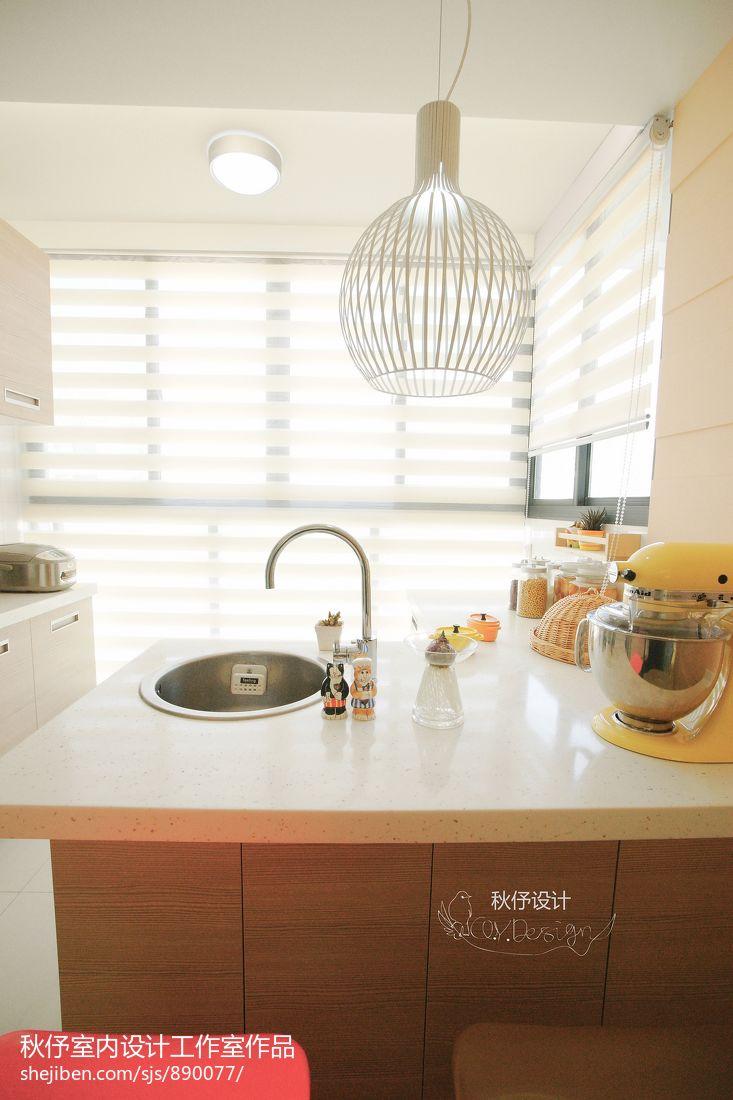 2018面积101平混搭三居厨房装修设计效果图