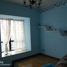 精选99平方三居卧室混搭装修效果图片