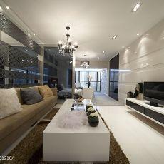 现代风格40平米一居室小户型装修效果图