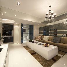 现代简约家装客厅效果图欣赏