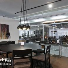精选126平米四居餐厅现代实景图