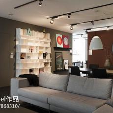 精美面积138平现代四居客厅装修欣赏图