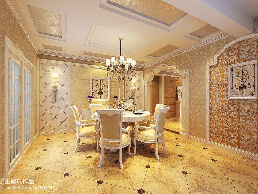 时尚欧式设计书房装修效果图片