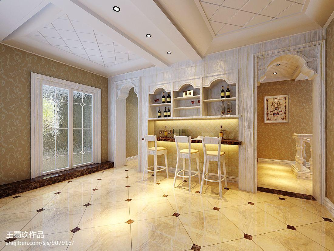 时尚欧式设计家居餐厅装修效果图片