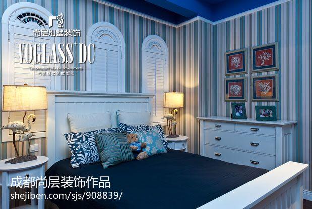 精美现代主卧室设计装修