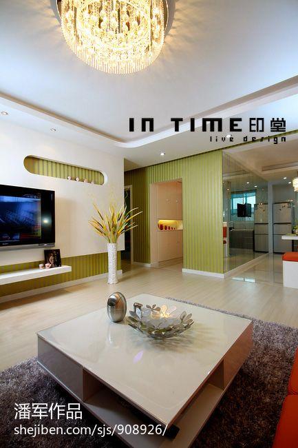 精选大小78平混搭二居客厅装修欣赏图片