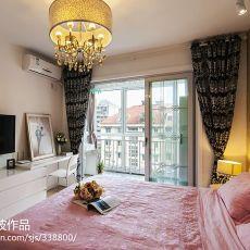 104平方三居卧室混搭装修效果图片欣赏