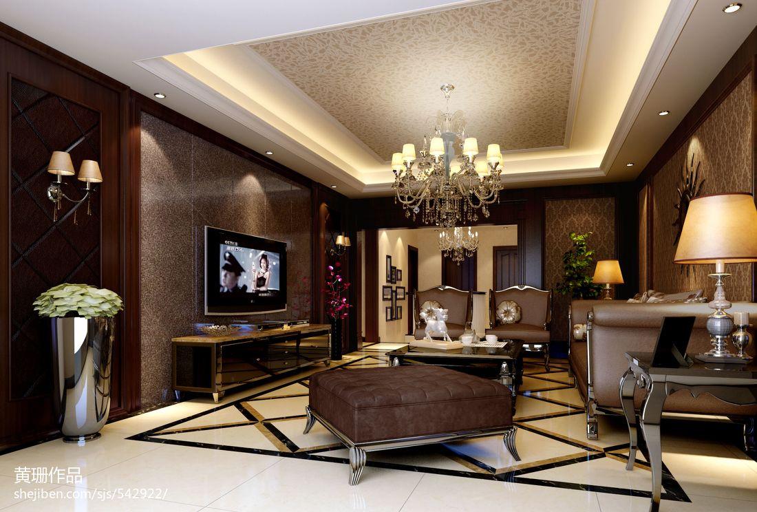 简约现代公寓室内客厅图片