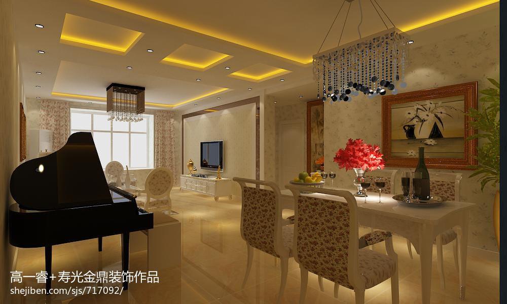 新中式风格家居玄关装修效果图片